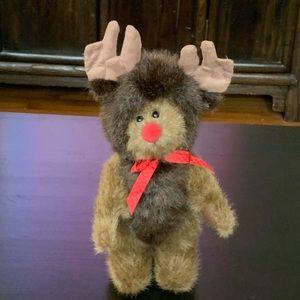 "Boyds Bears ""Matthew"" Plush Reindeer Peeker"